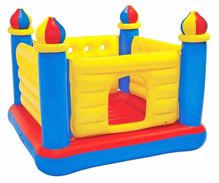Brincolin Castillo Inflable 1.75 X1.75x1.35cm 48259np Intex