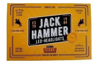 Juego De Luces Led Jack Hammer Un Paso H1 Kit Automotriz
