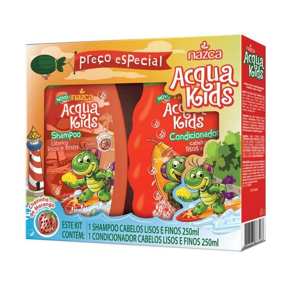 Acqua Kids Estojo Lisos E Finos Sh + Cond 250ml