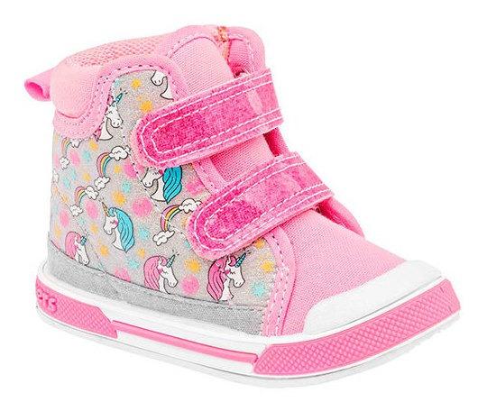 Sneaker Formal Plastico Textil Bota Dtt94165 Nube Unicornio