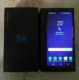 Samsung S9 Con Su Caja, Escucho Ofertas ¡¡¡