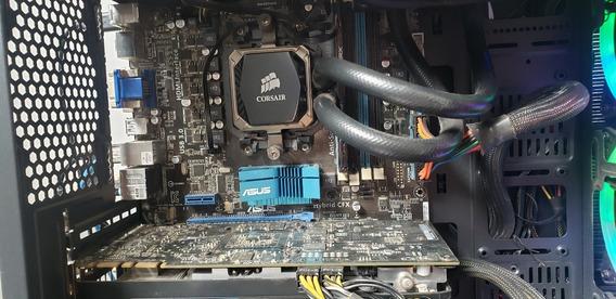 Kit Gamer Amd :fx 8350 4.2ghz +watercooler+placa Mãe+8gb Ram