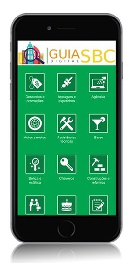 Aplicativo Guia Comercial App Mobile Android Personalizado