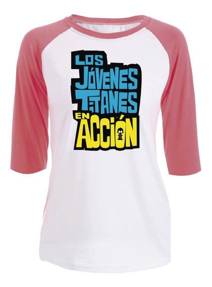 Playera Jovenes Titanes En Accion (teen Titans Go)