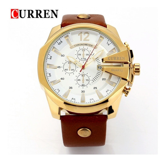 Reloj Para Hombre Caballero Elegante! De Lujo