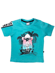 Camiseta Infantil Menino Manga Curta Skate Skater - Minore