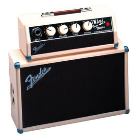 Novo Mini Amplificador Guitarra Tone Master Blonde Fender