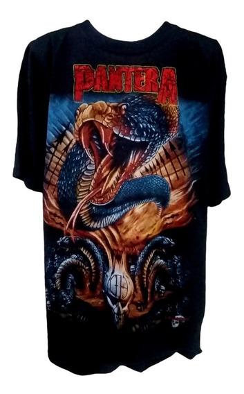 Playera Pantera Cowboys From Hell Bordada