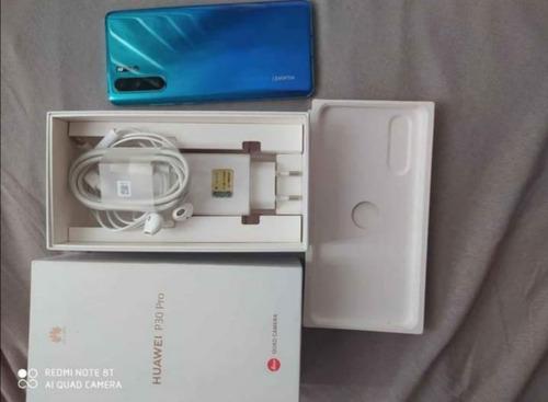 Huawei P30 Pro Aura Blue Completo, Com Garantia Até 2022