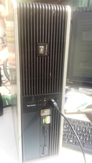 5-computador Hp Amd 4000 Gabinete/cpu Completo Hd 80 Memoria 2gb