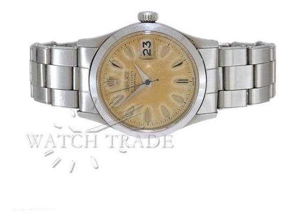 Relógio Rolex Oysterdate Ref.: 6518 Ano 1957 Completo