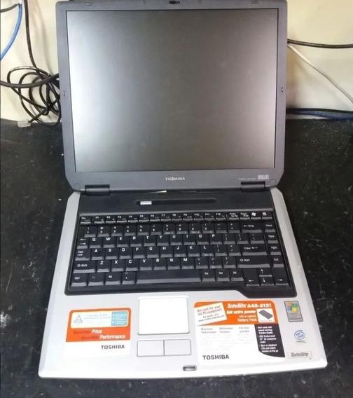 Notebook Toshiba A45-s121(s120) Vendo Em Peças, Na Descrição