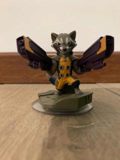 Figura Disney Infinity 2.0 Rocket Raccoon Marvel Super Heroes