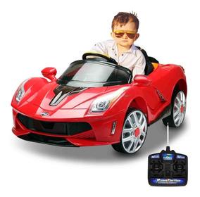 Carrinho Elétrico Infantil Esporte Luxo 12v Vermelho