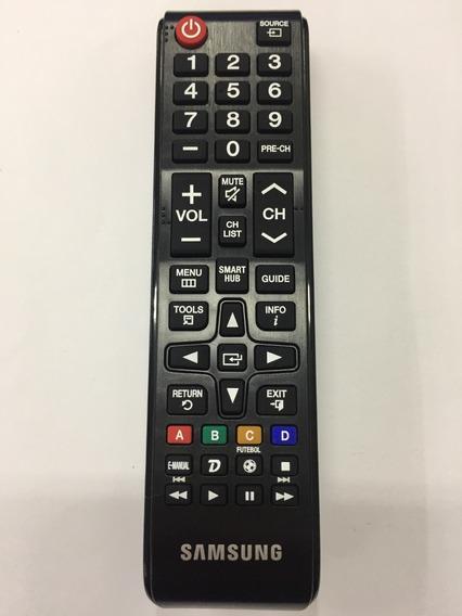 Controle Remoto Tv Samsung Smart Hub Original Bn98-06046a