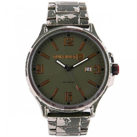 Relógio Quiksilver Beluka Prata/verde