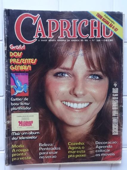 Capricho Nº 339 - Álbum Mulheres De Areia - Fotonovela 1973