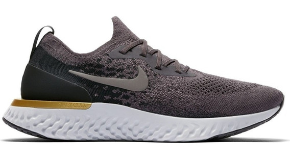 Zapatillas Nike Epic React Flyknit Running Hombre Aq0067-009
