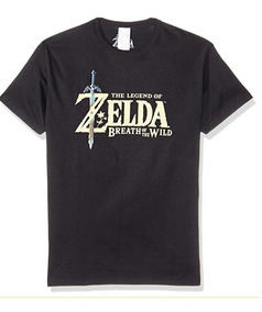 Playera Zelda Breath Of The Wild Talla Mediana Original