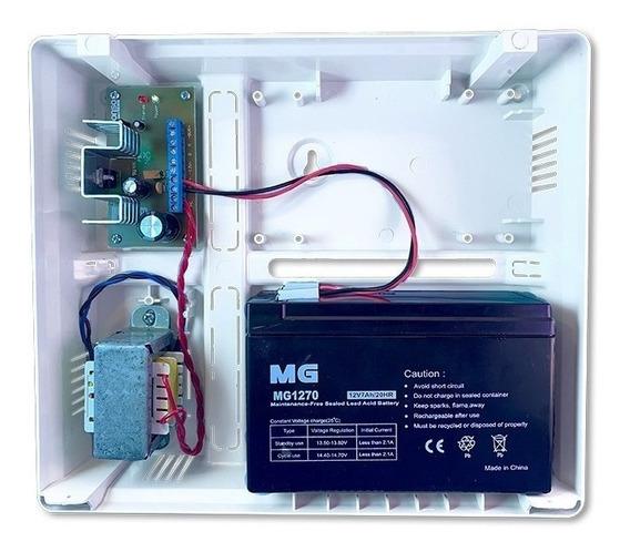 Fuente Auxiliar Supervisada 1,5 Amp. + Batería + 12c