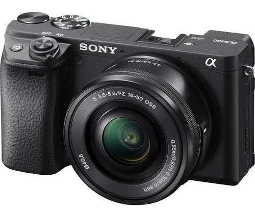 Câmera Sony Mirrorless Alpha A6400 + 16-50mm Nova + Garantia