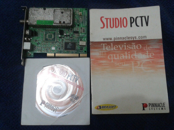 Placa Pinacle Studio Pc Tv # Muito Nova