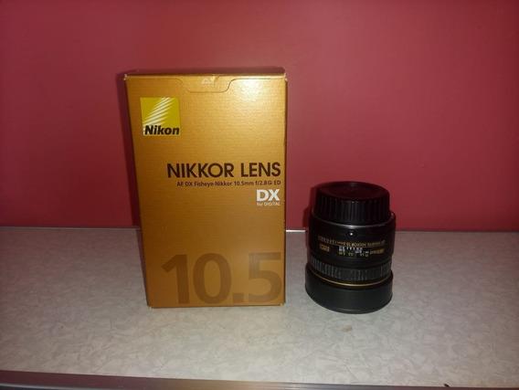 Lente Profissional Nikon Fisheye Af Dx 10.5mm F/2.8g