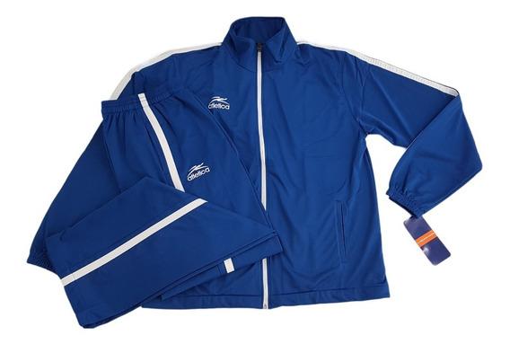 Conjunto Atletica Azul Rey Para Hombre T02cl141ak