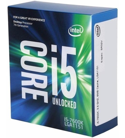 Processador I5-7600k + Placa Asus Z270-k