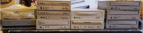 Lote De 10 Cd Roms Creative Sony Panasonic