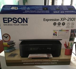Impresora Multifunción Epson Inalámbrica Wifi Escaner