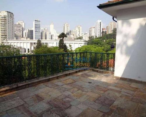 Casa Com 4 Dormitórios À Venda, 559 M² Por R$ 5.000.000,00 - Higienópolis - São Paulo/sp - Ca5963