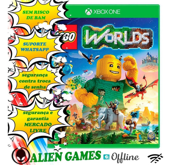Lego® Worlds Midia Digital Offline X Box One