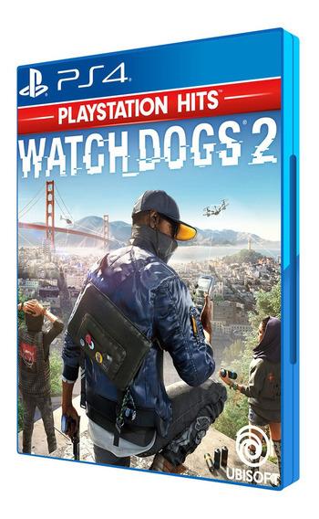 Watch Dogs 2 Ps4 Cd Blu-ray Midia Fisica Original Português