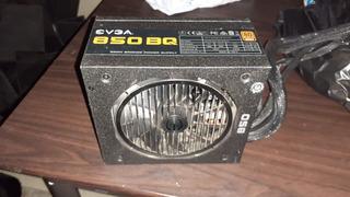 Fuente De Poder Evga 850 W Bq Semimodular