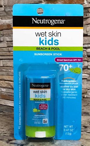 Neutrogena Wet Skin Kids Fps 70+ Protetor Solar Stick 13g