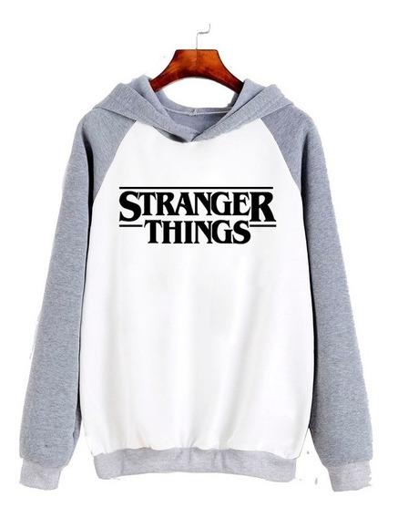 Buzo Stranger Things Logo Clasico
