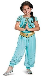 Disfraz De Princesa Aladdin De Disfraz Jasmine Prestige De D