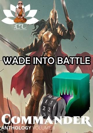Deck -wade Into Battle- Kalemne-commander Vol. 2 Mtg