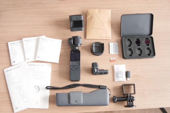 Dji Osmo Pocket 4k C/ Expansion Kit E Filtro Nd E 1 Brinde