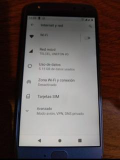 Moto X4 Azul 32gb Dual Sim Liberado Para Cualquier Compañía.