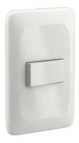 Interruptor 4x2 Simples Placa Branco Zuli Lorenzetti 50un