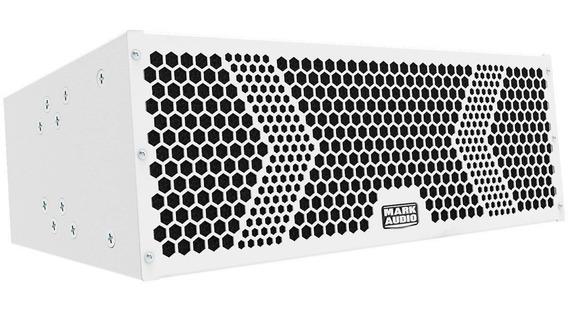 Caixa De Som Amplificada Mark Audio Line Array Vmk 6 Branca