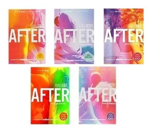 Coleção After - Anna Todd - 5 Livros