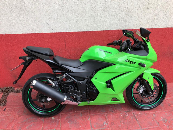 Kawasaki Ninja 250r 2010 Verde
