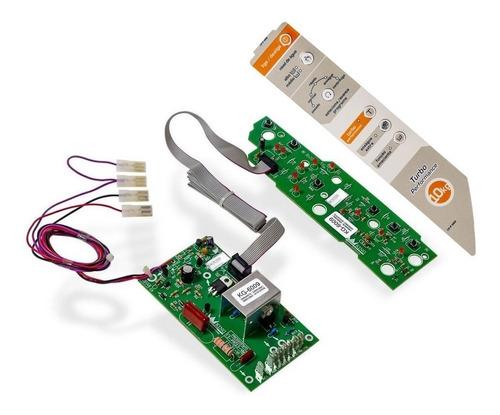 Imagem 1 de 6 de Placa Potência Interface E Adesivo Lavadora  Bwg10a