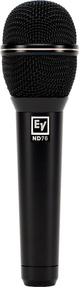 Microfone Nd76 Dynamic Vocal Ev Eletro Voice