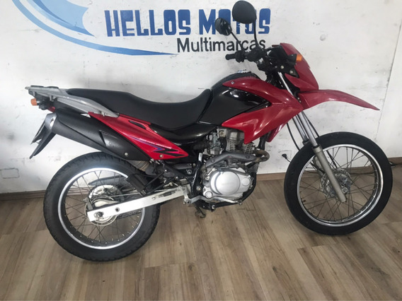 Honda Bros 125 Es 2013 Aceito Moto Fin 48x Cartao 12x 1,6%