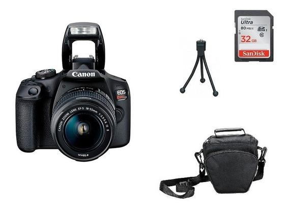 Kit Câmera Canon T7 - 18-55mm Garantia Sem Juros