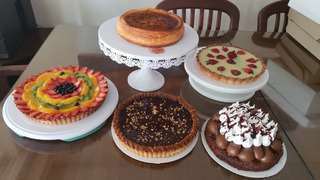 Mesa Dulce 30/35 Personas Brownie, Lemon Pie, Frutal Y +